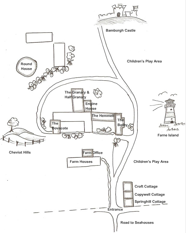 Cottages Map