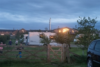 Caravan & camping site near Seahouses and Bamburgh, on the