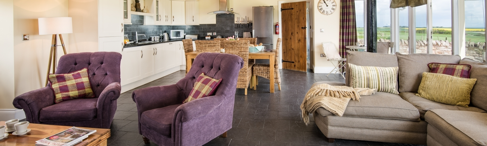 Holiday cottages Northumberland near Seahouses and Bamburgh