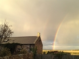 Rainbow over The Bothy