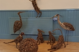 Willow Weave Sculpture - Anna Turnbull